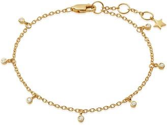 Missoma Gold Interstellar Drop Bracelet