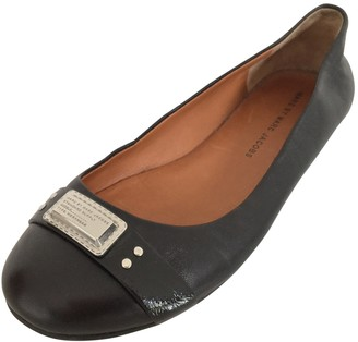 Marc by Marc Jacobs Black Leather Ballet flats