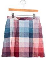 Paul Smith Girls' Plaid Pleated Skirt w/ Tags