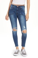 One Teaspoon Women's Freebirds Ii Ripped High Waist Jeans