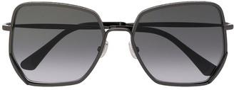 Jimmy Choo Eyewear Oversized Sunglasses
