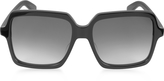 Saint Laurent SL 174 Acetate Square-Frame Women's Sunglasses