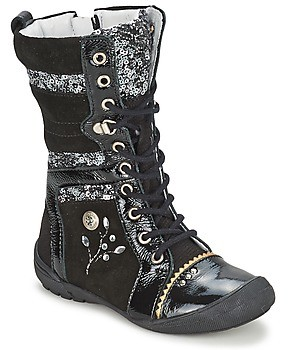 Catimini CYLENE girls's Mid Boots in Grey