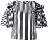 Osman ruffled striped top