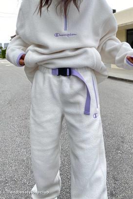 Champion UO Exclusive Polar Fleece Belted Sweatpant