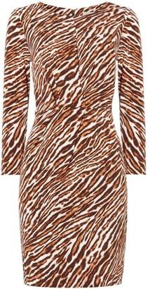 MICHAEL Michael Kors Exclusive safari pleat front dress