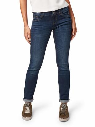 Tom Tailor Women's Straight Jeans Carrie in Cleaner Optik