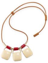 Marni Triple Pendant Necklace
