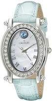 Croton Women's CN207537TOMP Balliamo December Birthstone Analog Display Quartz Blue Watch