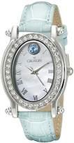 Croton Women's CN207537TOMP Balliamo December Birthstone Analog Display Quartz Watch