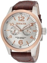 Invicta Men's Alligator Embossed I-Force Casual Watch