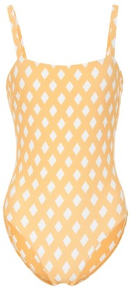 Asceno Checked swimsuit