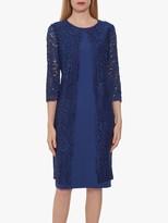 Gina Bacconi Farlyn Crepe Lace Dress