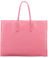 Balenciaga Giant 12 Nickel Papier A4 Leather Tote Bag, Pink