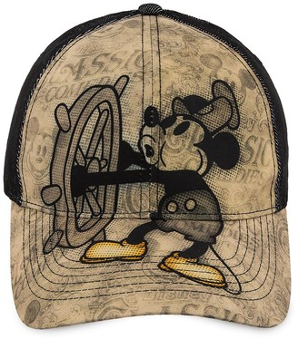 Disney Mickey Mouse Steamboat Willie Baseball Cap for Adults Walt World