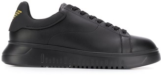 Emporio Armani Lace-Up Low Top Sneakers