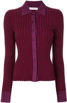 Altuzarra shirt-style fitted cardigan - women - Polyamide/Spandex/Elastane/Viscose - M