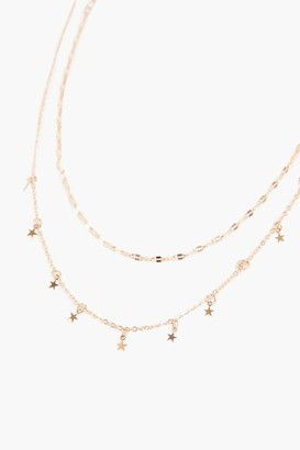 Forever 21 Star Charm Necklace Set