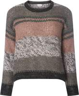 Noisy May **Noisy May Stripe Crew Neck Knitted Jumper