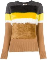 Muveil colour block jumper