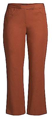Theory Women's Double Stretch Cotton Crop Pants