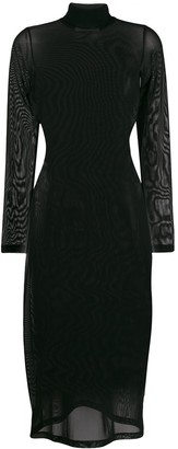 MM6 MAISON MARGIELA sheer mesh dress