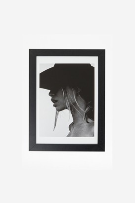 French Connection Framed Female Shadow Print 30X40