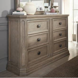 Darby Home Co Thaxted 6 Drawer Double Dresser