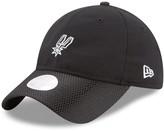 New Era Women's Black San Antonio Spurs On-Court 9TWENTY Adjustable Hat