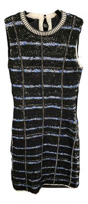 Louis Vuitton Blue Cotton - elasthane Dresses