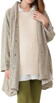 Sweet Mommy Multifunctional Maternity and Babywearing Cardigan with Shawl Collar BEF