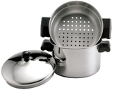 Farberware Classic Stainless Steel Covered Stack 'n' Steam Saucepot and Steamer Set (3 PC)