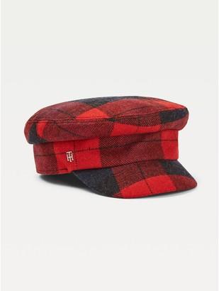 Tommy Hilfiger Plaid Baker Boy Hat