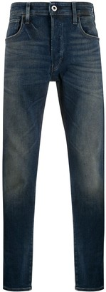 G Star 3301 Mid-Rise Slim Jeans