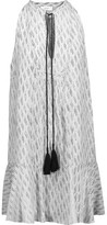 A.L.C. Hadley Ruffled Printed Silk Crepe De Chine Mini Dress