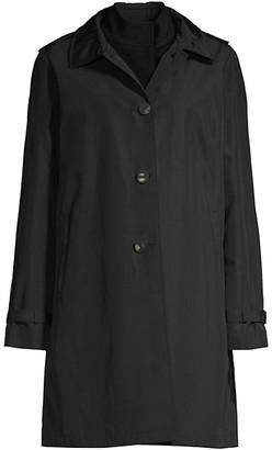 Jane Post Loro Piana Wool Double Coat