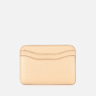 Marc Jacobs Women's New Card Case - Gold