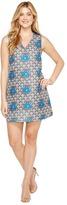 Christin Michaels Hanelle Sleeveless V-Neck Dress Women's Dress