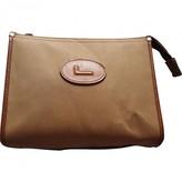 Lancel Brown Cloth Travel bags
