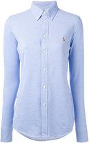 Polo Ralph Lauren embroidered logo shirt - women - Cotton - M