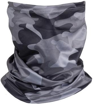 Iscream Kids Non-Medical Face Mask Black Camo Gaiter