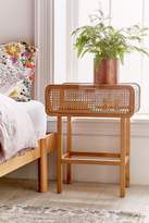 Urban Outfitters Marte Rattan Side Table