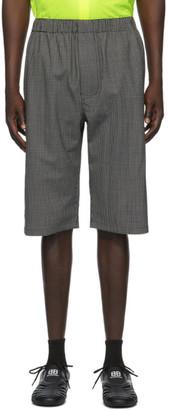 Balenciaga Black and White Pyjama Shorts