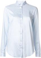 Xacus pinstripe shirt