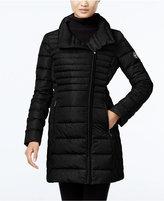 MICHAEL Michael Kors Asymmetrical Down Packable Puffer Coat