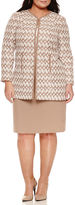 Isabella Collection Long Sleeve 2-pc. Skirt Set-Plus