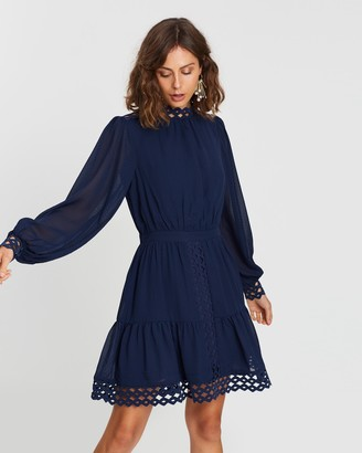 Atmos & Here Lace Insert Dress