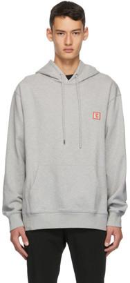 Wooyoungmi Grey Logo Hoodie