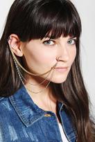 Maria Francesca Pepe MariaFrancescaPepe Faux Nose Ring Cuff Earring