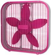 Sunbeam 20-Inch Box Fan - Pink